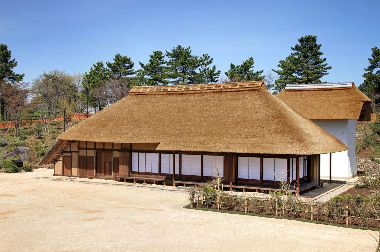 昭和記念公園こもれびの里農家付属施設建築工事